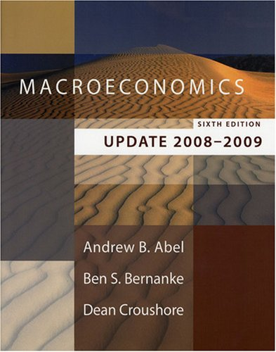 9780321510662: Macroeconomics Update 2008-2009, 6th Edition