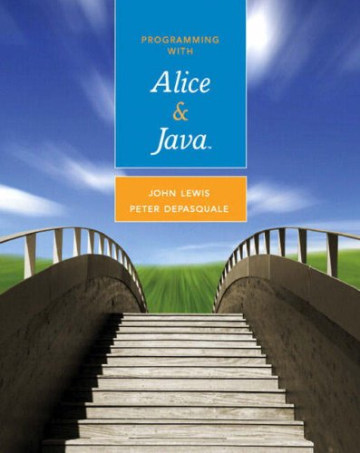 9780321512093: Programming with Alice and Java