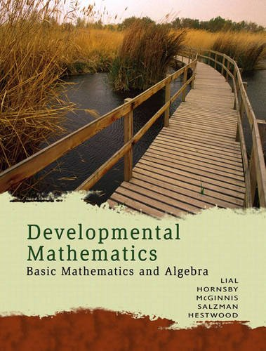 9780321512536: Developmental Mathematics