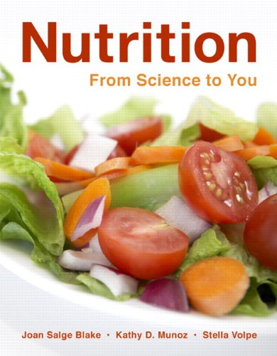 Nutrition 9780321513199 Key Benefit: Nutrition: From Science to You builds on the strengths of its sister book Nutrition & You and takes a personal approach to introductory nutrition in the majors market. This book is geared towards visual learners and aids readers in applying the material they learn to themselves and their future clients and patients. This text personalizes information for readers to engage them in the subject matter, while retaining the scientific rigor needed. Innovative pedagogical features include the Visual Summary Tables, which present key information in the micronutrients chapters to support readers as visual learners, and Table Tips throughout the book, which give readers practical ways to improve their eating habits. Key Topics: What Is Nutrition?, Tools for Healthy Eating, Digestion, Absorption, and Transport , Carbohydrates: Sugars, Starches, and Fiber, Fats, Oils, and Other Lipids, Proteins and Amino Acids, Alcohol, Metabolism, Fat-soluble Vitamins, Water Soluble Vitamins, Water, Major Minerals, Trace Minerals, Energy Balance and Body Composition, Weight Management, Nutrition and Fitness, Life Cycle Nutrition: Pregnancy through Infancy, Life Cycle Nutrition: Toddlers through Adolescence, Life Cycle Nutrition: Adults through the Later Years, Food Safety and Technology, Hunger at Home and Abroad Market: Intended for those interested in learning the basics of introductory nutrition.