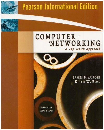 9780321513250: Computer Networking: Computer Networking International Version: A Top-Down Approach