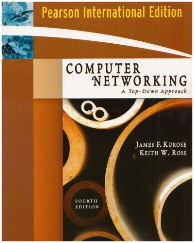 9780321513250: Computer Networking: International Version: A Top-Down Approach