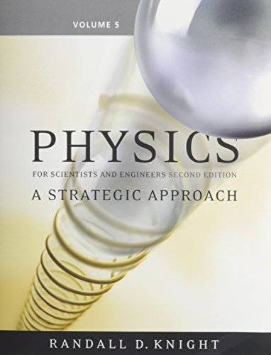 9780321516541: Physics for Scientists and Engineers: A Strategic Approach, Vol 5 (Chs 37-43) (2nd Edition)