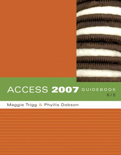 9780321517012: Access 2007 Guidebook (6th Edition)