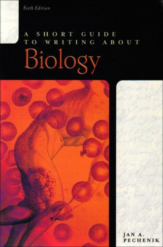 9780321517166: A Short Guide to Writing About Biology