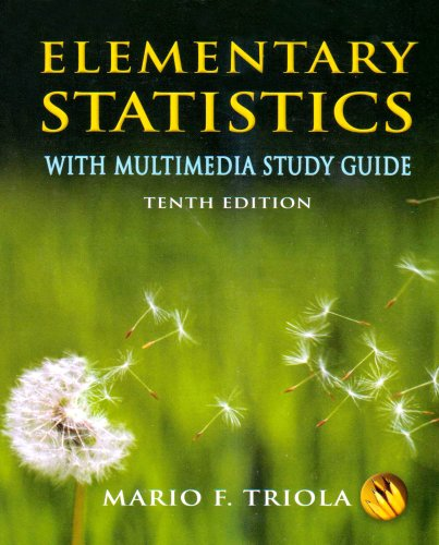 9780321518187: Elementary Statistics: With Mutlimedia Study Guide
