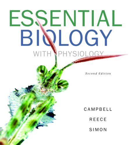 Essential Biology with Physiology Value Pack (includes Current Issues in Biology, Vol 3 & Current Issues in Biology, Vol 4) (2nd Edition) (0321520467) by Campbell, Neil A.; Reece, Jane B.; Simon, Eric J.