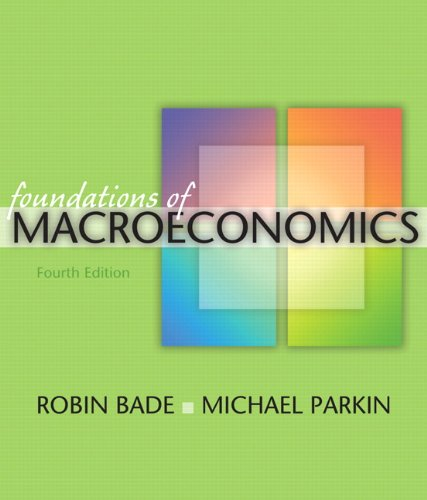 9780321522528: Foundations of Macroeconomics, 4th Edition