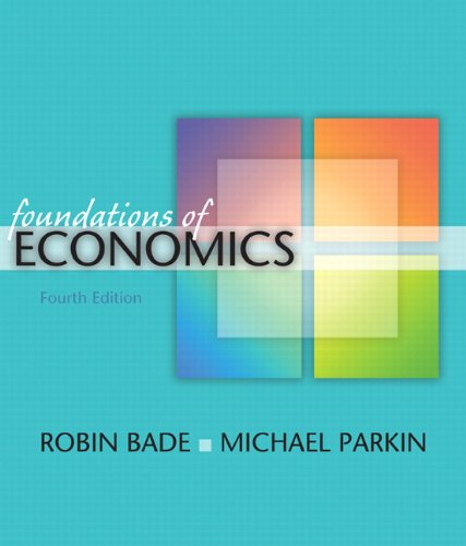 9780321522535: Foundations of Economics (Pearson Custom Business Resources)