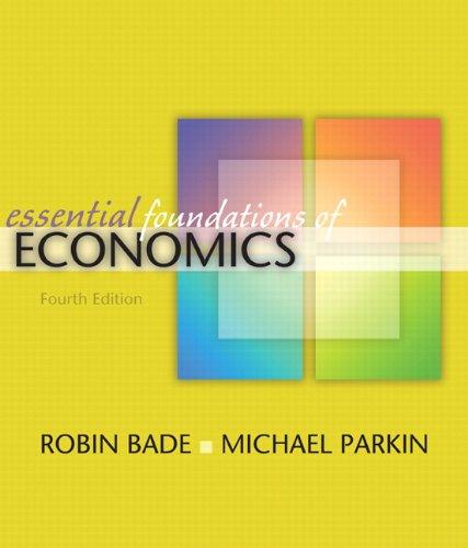 9780321522542: Essential Foundations of Economics (4th Edition)