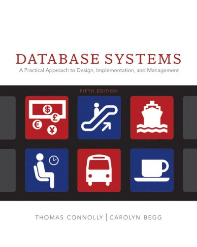 9780321523068: Database Systems: A Practical Approach to Design, Implementation and Management (5th Edition)