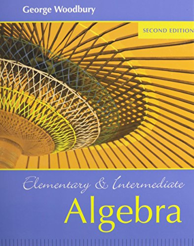 9780321523181: Elementary and Intermediate Algebra plus MyMathLab Student Access Kit (2nd Edition)