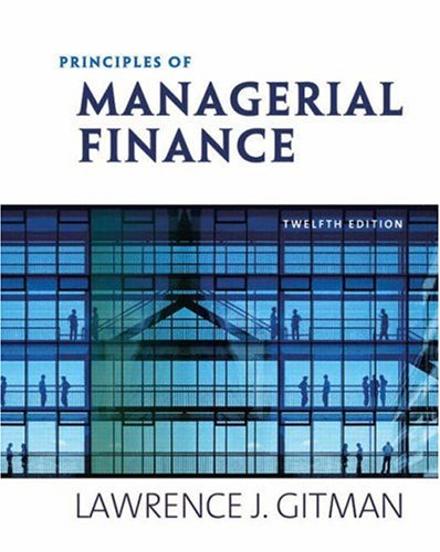 Principles of Managerial Finance Ed. 14