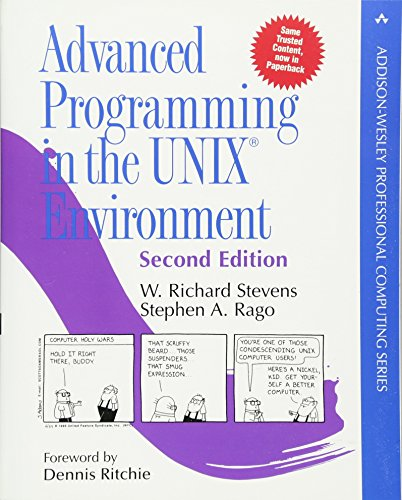 9780321525949: Advanced Programming in the UNIX Environment:Paperback Edition (Addison-Wesley Professional Computing Series)