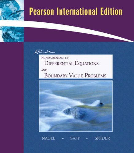 9780321526533: Fundamentals of Differential Equations with Boundary Value Problems with IDE CD (Saleable Package): International Edition