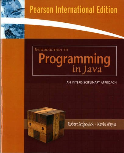 9780321526564: Introduction to Programming in Java: An Interdisciplinary Approach: International Edition
