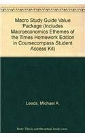 Macro Study Guide Value Package (includes Macroeconomics: Leeds, Michael A.,