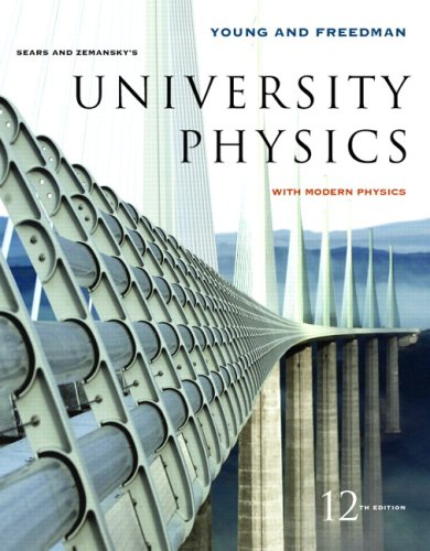 University Physics with Modern Physics with MasteringPhysics Value Pack (includes Study Guide for University Physics Vol 1 & Study Guide for University Physics Vols 2 and 3) (12th Edition) (9780321527295) by Hugh D. Young; Roger A. Freedman; Lewis Ford