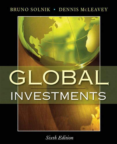 9780321527707: Global Investments (6th Edition)