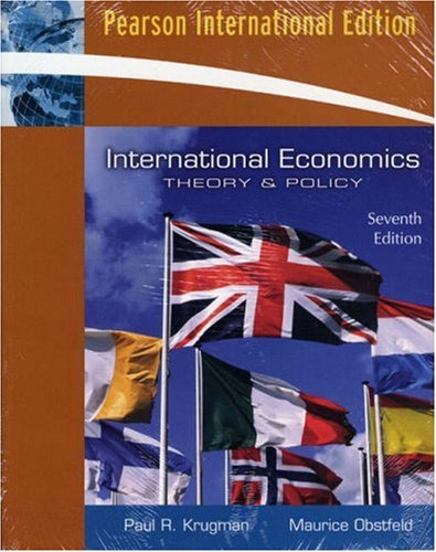 9780321530356: International Economics: Theory and Policy