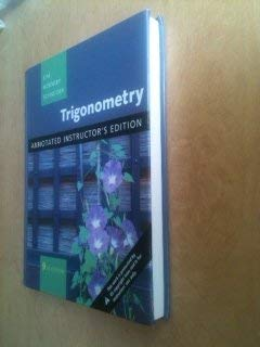 9780321530431: Trigonometry Annotated Instructor Edition