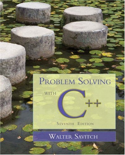 9780321531346: Problem Solving with C++, 7th Edition