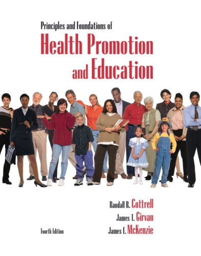 9780321532350: Principles and Foundations of Health Promotion & Education (4th Edition)
