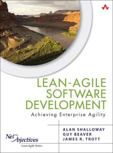 9780321532893: Lean-Agile Software Development: Achieving Enterprise Agility