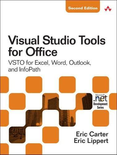 9780321533210: Visual Studio Tools for Office 2007: VSTO for Excel, Word, and Outlook: VSTO for Excel, Word, Outlook, and InfoPath (Microsoft .Net Development)