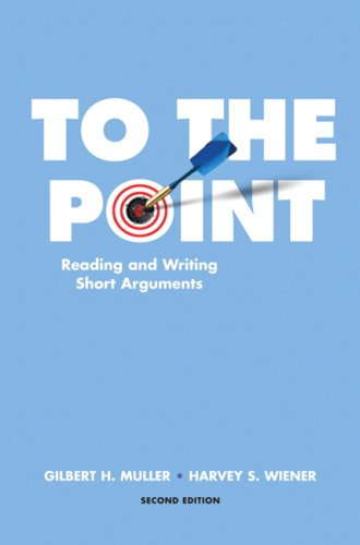To the Point (2nd Edition): Muller, Gilbert H;