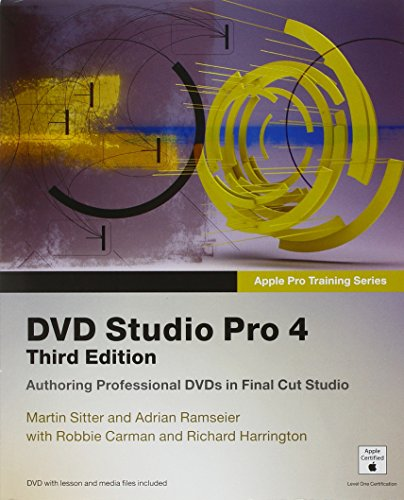 9780321534095: Apple Pro Training Series: DVD Studio Pro 4