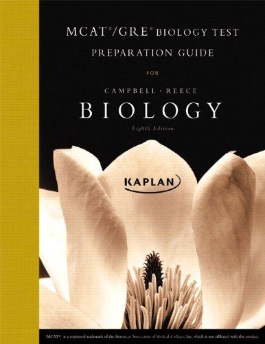 9780321534637: MCAT/GRE Kaplan Test Preparation Guide for Biology
