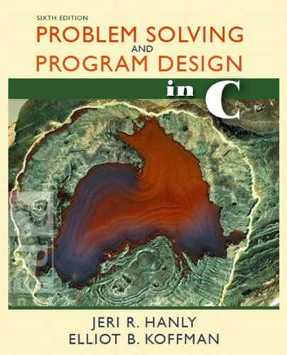 9780321535429: Problem Solving and Program Design in C (6th Edition)