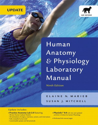 9780321535979: Human Anatomy & Physiology Laboratory Manual with PhysioEx 8.0, Cat Version, Update (9th Edition)