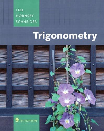 9780321536006: Trigonometry Plus MyMathLab Student Access Kit (9th Edition)