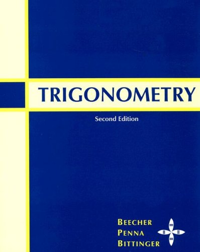 9780321536303: Trigonometry (2nd Edition)
