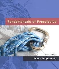 9780321536754: Fundamentals of Precalculus