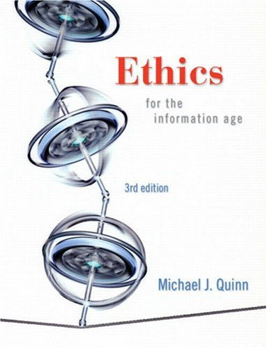 9780321536853: Ethics for the Information Age (3rd Edition)