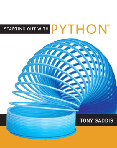 9780321537119: Starting Out with Python: United States Edition