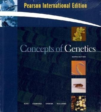 9780321540980: Concepts of Genetics (Cell and Molecular Biology in Action)