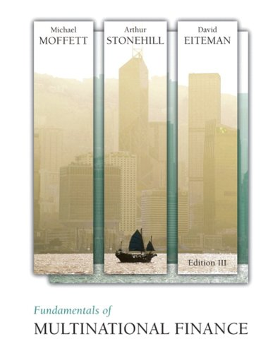 9780321541642: Fundamentals of Multinational Finance (3rd Edition)