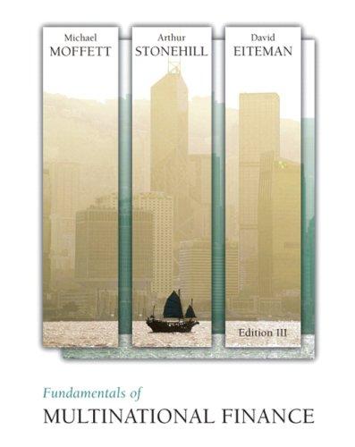 9780321541642: Fundamentals of Multinational Finance (3rd Edition)