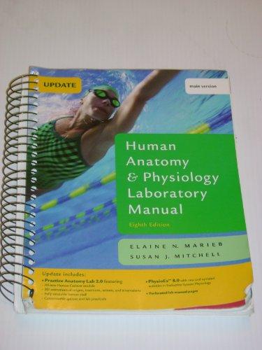 9780321542472: Human Anatomy & Physiology Laboratory Manual, Main Version, Update (8th Edition)
