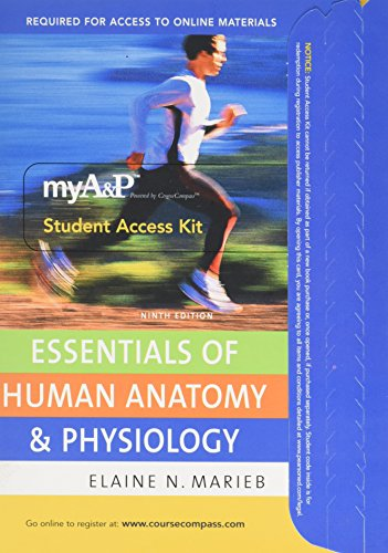 9780321542700: myA&P? CourseCompass ? Student Access Kit for Essentials of Human Anatomy & Physiology (ValuePack item only)