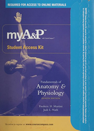 Fundamentals of Anatomy & Physiology, 8th Edition Student Access Kit: Frederic H. Martini, Judi...