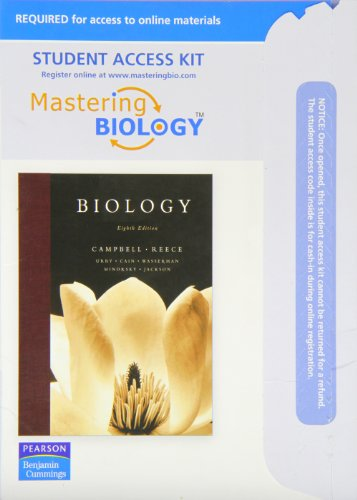 9780321542892: Mastering Biology With Pearson Etext Student Access Kit for Biology