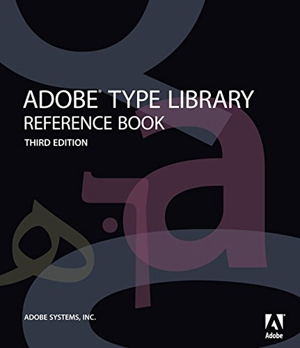 9780321544728: Adobe Type Library Reference Book (3rd Edition)