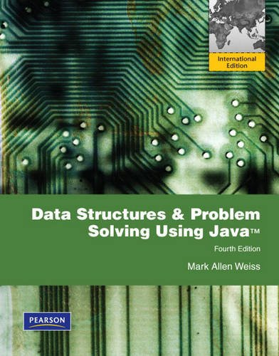 9780321546227: Data Structures and Problem Solving Using Java: International Edition