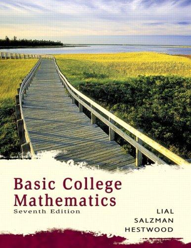 9780321547118: Basic College Mathematics Value Pack (includes Math Study Skills & MyMathLab/MyStatLab Student Access Kit )