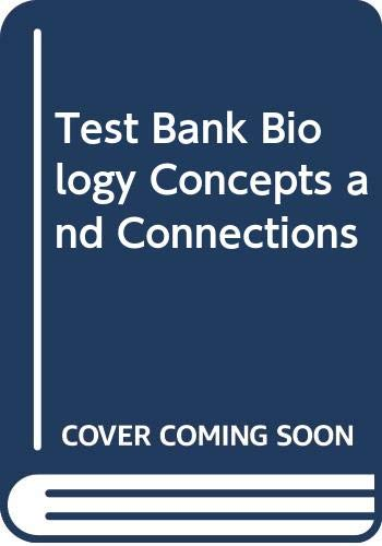 9780321547927: Test Bank Biology Concepts and Connections